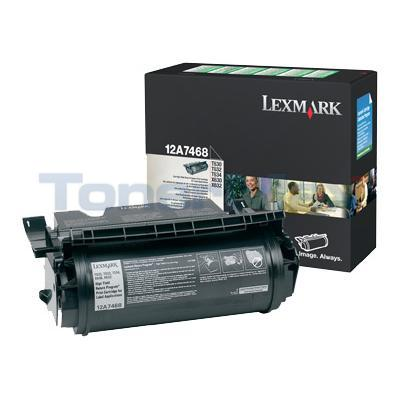 LEXMARK T630 TONER CARTRIDGE FOR LABEL APPS RP 21K